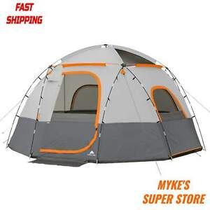 9 Person Tent Lighted Sphere 15 ft. x 15 ft. Camping amp; Outdoor Sporting Goods