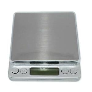 Digital Scale Jewelry Gold Silver Coin Gram Pocket Size Herb Grain 3000g x 0.1g