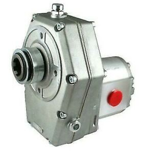 Galtech Hydraulic PTO Gearbox with Group 2 Pump Aluminium $413.31