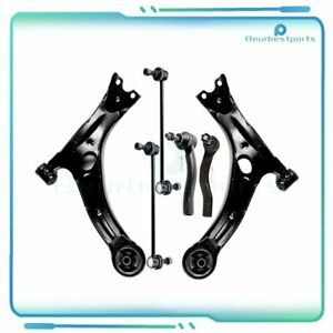 6pc Steering Parts Steering Kit Control Arm Fits 2003 2008 Toyota Corolla $86.88