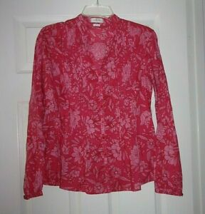 VAN HEUSEN PINK COTTON TOP 100% COTTON WORN ONCE SIZE SMALL