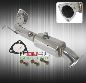 For 02 06 Acura Rsx Type S Dc5 Resonator Racing Downpipe 2.25 Upgrade Stainless $124.99