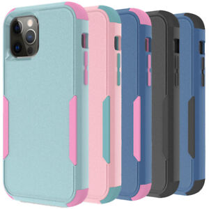 Shockproof Case For iPhone 13 12 11 Pro Max Xr Xs Max 6 6S 8 7 Heavy Duty Cover $8.58