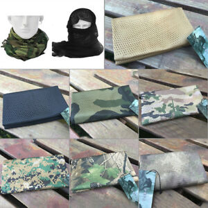 Military Tactical Scarves Arab Scarf Head Wrap Camouflage Scarves Mamp;ED FH
