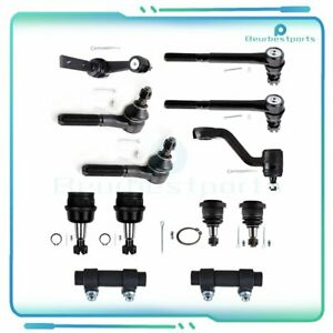 12 Piceces Steering Parts Steering Kit Pitman Arm For 94 96 Dodge Ram 1500 2WD $115.07