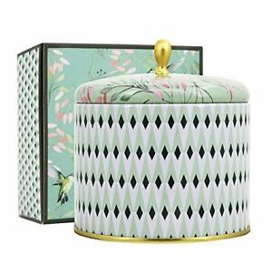 Large Scented Candle 2 Wicks White Tea Aromatherapy Candle for Home 14.1 Oz L...
