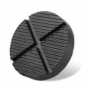 Universal Jack Pads Rubber Pad Adapter Car Truck Cross Slotted Frame Rail Floor $6.74
