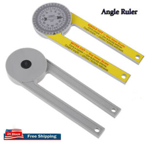 ABS Miter Saw Protractor Dustproof Angle Gauge 360° High Precision Goniometer US $7.84