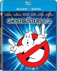 New Ghostbusters I amp; II Collection Blu ray DVD Digital $12.60