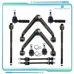 New 10 PCS Front Control Arms Steering Kit For 2002 2005 Dodge Ram 1500 4WD $117.07