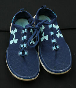 Under Armor Shoes Boys Size 5Y Blue Athletic Shoes Ships FAST $24.99