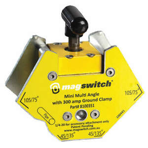 MAGSWITCH 8100351 Welding Angle150 lb. Max. PullSteel $70.30