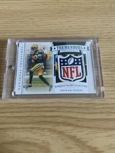 2020 Panini National Treasures Marquez Valdes Scantling SHIELD 1 1 One of One 🔥 $299.99