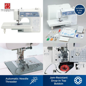 Sewing Quilting Embroidery Machine Computerized Screen Automatic Needle Threader $287.95