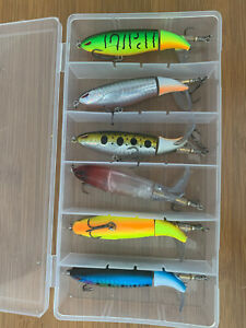 Fishing Lures Top Baits Rotating Tail Bass Trout 6 Pack