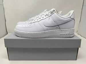 Nike Air Force 1 #x27;07 Low Men's Triple White ALL SIZES 6 to 15 New CW2288 111 $104.95