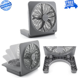 10 inch Battery or Electric Portable Fan Tent Accessory Home Office Camping $22.49