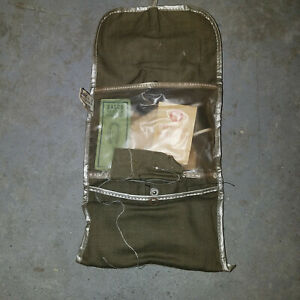 Vintage Dasco US Military Sewing Service Mending Kit Deluxe w Thread OD Green $22.50