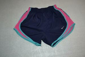 24824 a Womens Nike Running Shorts Gym Workout Lined Size Small Purple $21.99