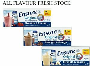 Ensure Original Nutrition Meal Replacement Shakes 9g of Protein 8 fl oz 24 ct $25.40