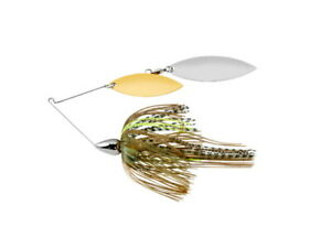 War Eagle WE38NW22 Sexxy Mouse 3 8oz Willow Nickel Fishing Spinnerbait Lure