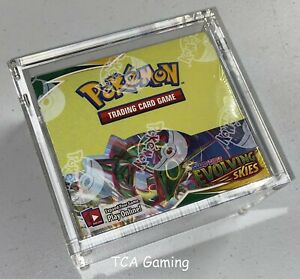 MAGNETIC Clear Protective Pokemon Booster Box Acrylic Case Fits MODERN BOXES CH $26.99