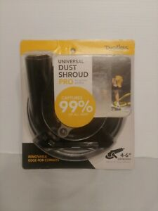 """Dustless Technologies 4quot; 6"""" Universal Dust Shroud Pro for Angle Grinders $32.00"""