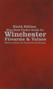 2021 Winchester Firearms Blue Book of Guns Pocket Price Guide 9th Ed SP Fjestad $13.46