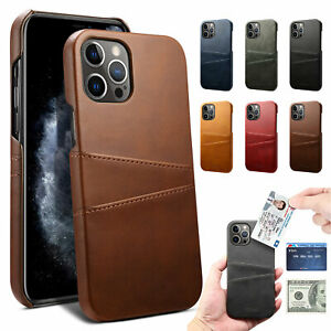 Case For Apple iPhone 13 Pro Max 13 Mini 13 Pro Leather Wallet Card Slim Cover $9.02