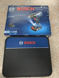 Bosch GSR18V 190B22 18V Compact 1 2quot; Drill driver Kit with 2 Slimpack Batteries $69.99
