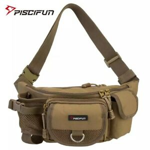 Fishing Bag Portable Outdoor Tackle Bags Multiple Waist Functional Fanny Pack