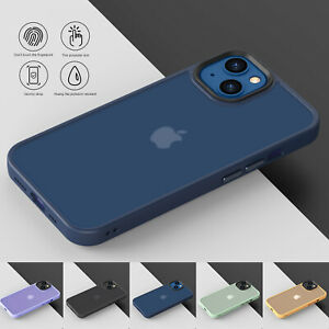 For iPhone 13 Pro Max 13 Mini 13 Matte Clear Case Shockproof Slim Silicone Cover $7.69