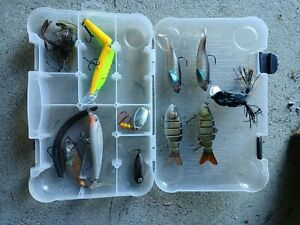 Bass Lures Fishing Lures for Bass Topwater Bass Lures frog Misc lures