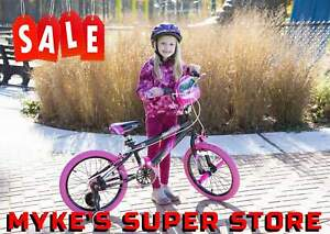 Girl#x27;s Bike Black Pink 18 inch Sparkles Outdoor Sporting Goods and Recreation