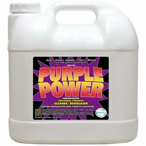 Purple Power Cleaner Degreaser Concentrate Home Multi Use Cleaning 2.5 Gallons