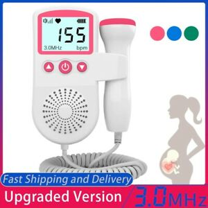 Heart Rate Monitor Home Pregnancy Display Baby Fetal Sound Heart Rate Detector $35.00