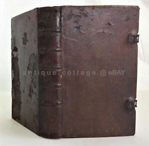1813 antique PA GERMAN GESANG BUCH SONG BOOK BIBLE PSALMS leather clasp PHILA $95.00