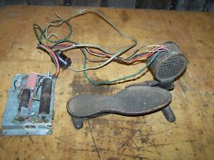 Antique Sewing Machine Foot Pedal Cast Iron Untested $19.99