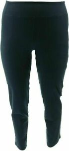 Women with Control TUSHY LIFTER Ankle Pants Black Large A353132 NEW