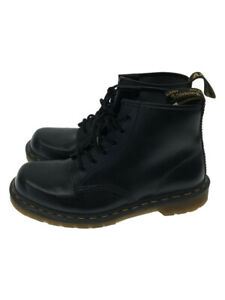 Dr.Martens Used Boots BLK Made in England Shoes From JAPAN FedEx No.4251