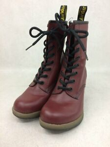 Dr.Martens Used Boots US6 BRD Leather Shoes From JAPAN FedEx No.4252