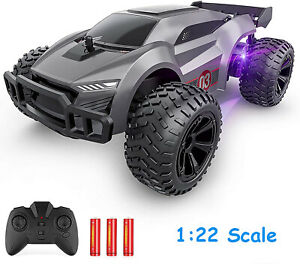 1:22 Remote Control Car 2.4GHz High Speed RC Cars Offroad Hobby RC Racing Truck $21.99