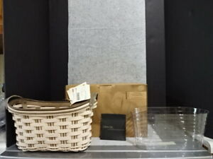 2009 LONGABERGER COLLECTORS CLUB TAMI HERITAGE JOURNAL BASKET PROTECTOR LIBRARY $79.99