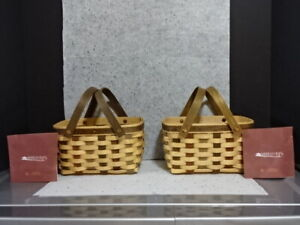 2006 LONGABERGER BEE COLLECTORS CLUB AMERICAN CRAFT TRADITION ACT MARKET BASKET $49.99