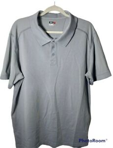 Under Armour XL Mens Gray Loose Fit Embroidered Logo Golf Polo $19.32