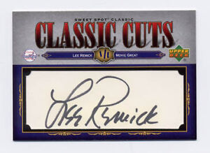 2007 Sweet Spot Lee Remick Classic Cuts Auto RARE 11