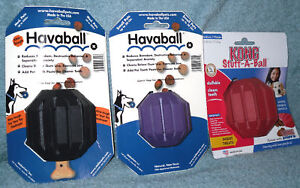 Kong Stuff A Ball Havaball Dog Toy Treat Dispensing...