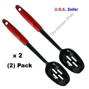 Nylon Slotted Spoon Red Kitchen Tools amp; Gadgets
