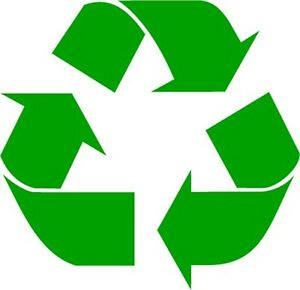 Recycle Logo Vinyl Decal Sticker Work or Home Renew and Reuse PICK SIZE COLOR