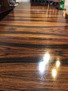 Danish rosewood H.Sigh & Sons dining table